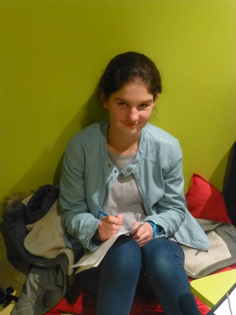Elève de Johanna Nantes 2016-17