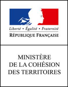 Logo du ministère de la ville et des territoires