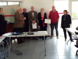 Nos médaillés 2019 de l'antenne de Bordeaux Métropole (c) DR