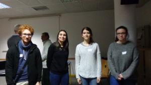 Les étudiants de l'Université de Tours bénévoles à l'E.S.A (c) DR
