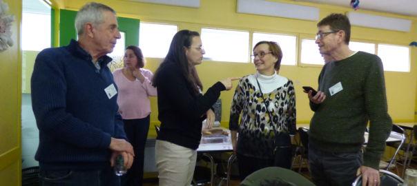 Echanges entre les bénévoles de Marseille (c) DR
